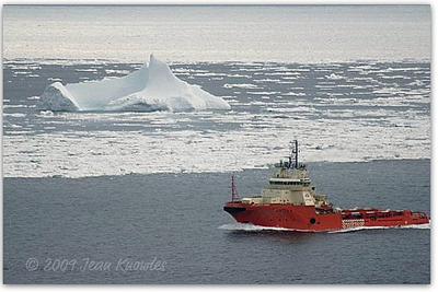 Jean Knowles - Iceberg from Signal Hill
