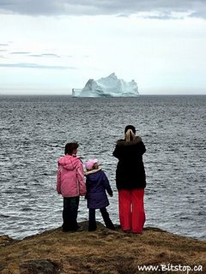 Karren Chappell - Family views Iceberg