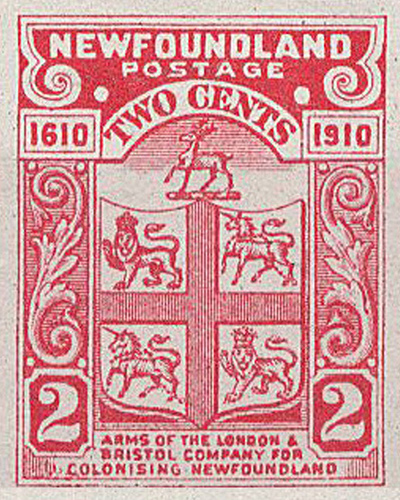 London and Bristol Company - Newfoundland Stamp