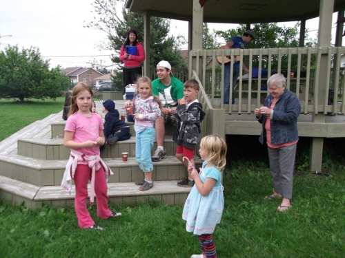 Family Campfire at the Community Gardens, Tuesdays at 7:30pm