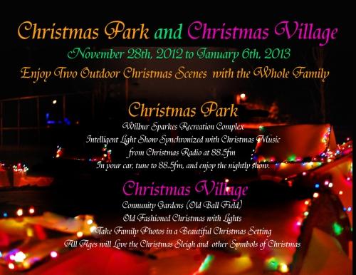 Christmas Park and Christmas Village