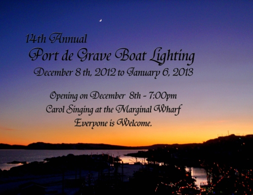 Neighbouring Community - Port de Grave Boat Lighting