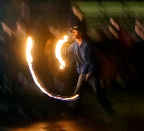 Fire Thrower at Carbonear Bonfire